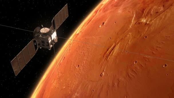 Mars Express Orbiting Mars