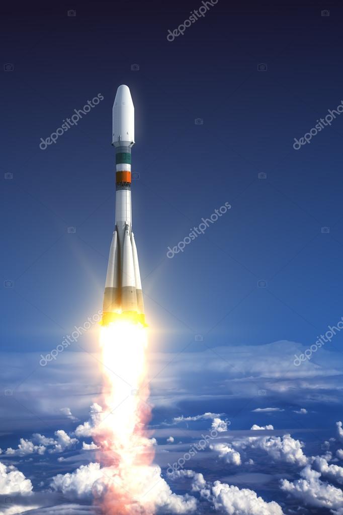 Lancio del razzo vettore pesante foto stock 3dsculptor - Immagini stampabili a razzo ...