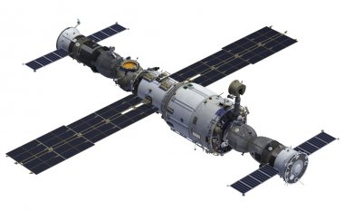 Space Station And Spacecrafts