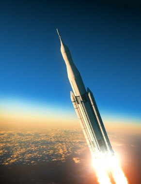Space Launch System Launching