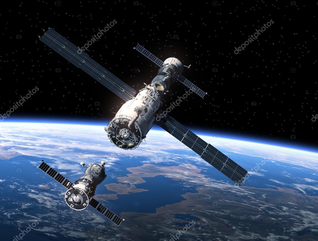 Naves Espaciales Y Estación Espacial