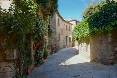Old Town Castelmuzio, Tuscany between Siena and Rome