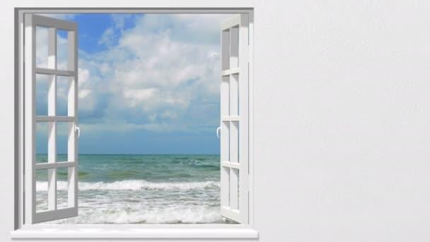 úvodní okno na exotické pláži
