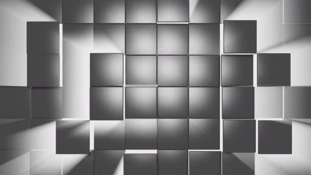 The animation of the texture of the squares moves in waves and rays of light shine through it