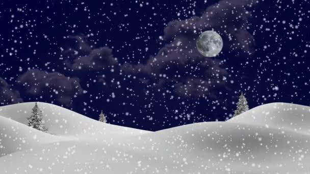 Nový rok, zimní pozadí