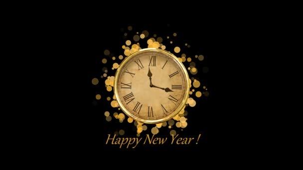 Happy New Year winter background