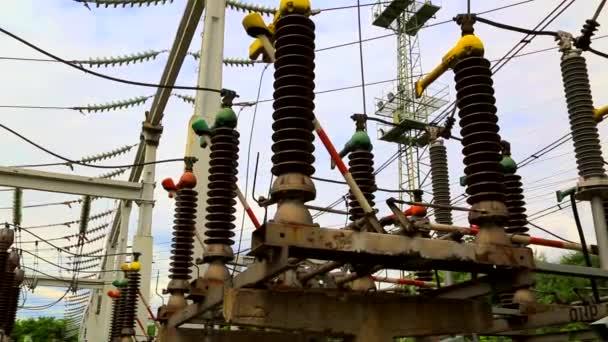 Erdungsstecker in elektrischen Hochspannungsschaltanlagen