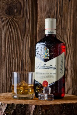 Ballantine's is the world's second highest selling scotch whisky
