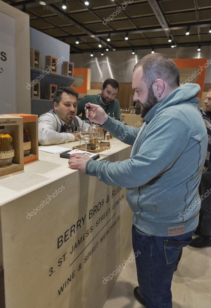 Whisky Dram Festival in Kiev, Ukraine