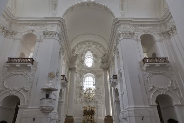 University Church or Kollegienkirche interior in Salzburg