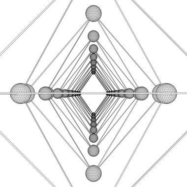 DNA Molecule Structure Vector
