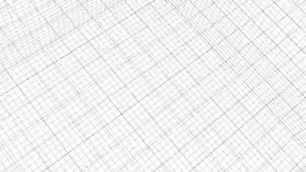 Struktura mřížky animace