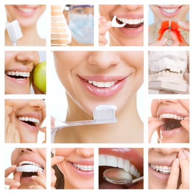 dental care collage (dental services)