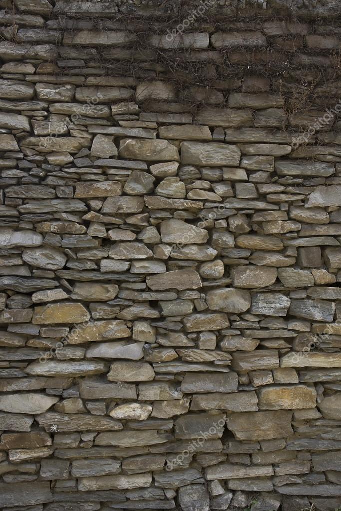 Parete di pietra texture di mattoni dell 39 annata mattoni - Parete di pietra ...