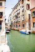 kanál v Benátkách, Itálie