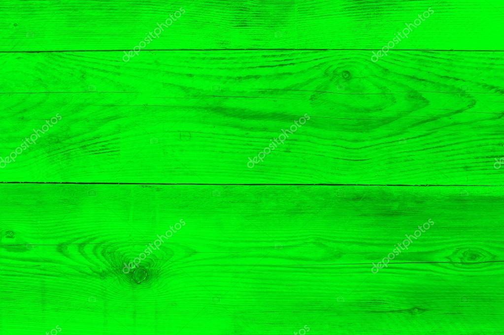 Struttura Di Legno Verde Al Neon Come Trama Di Sfondo Foto Stock