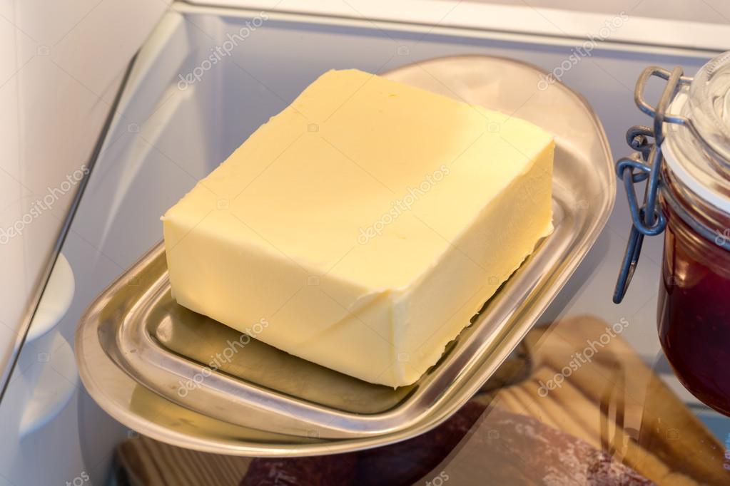 Resultado de imagen para mantequilla en la nevera