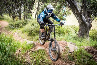 Mountain Bike Riders at Mt Buller