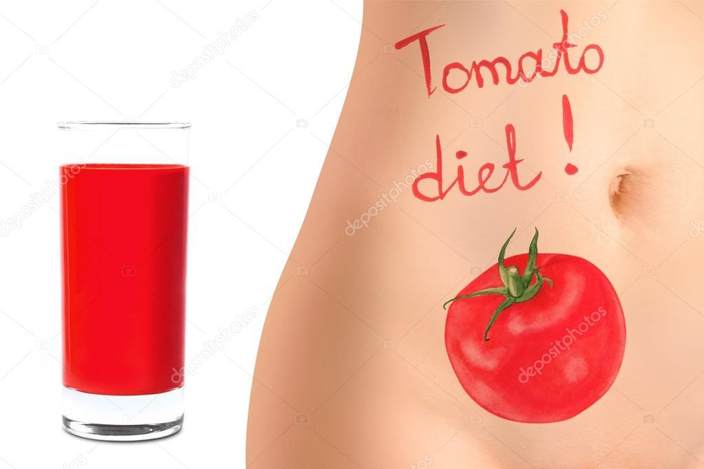 Konzept Der Tomate Diat Werbung Stockfoto C Omnislash 69119401