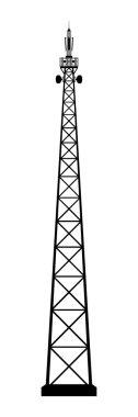 Broadcasting antenna.