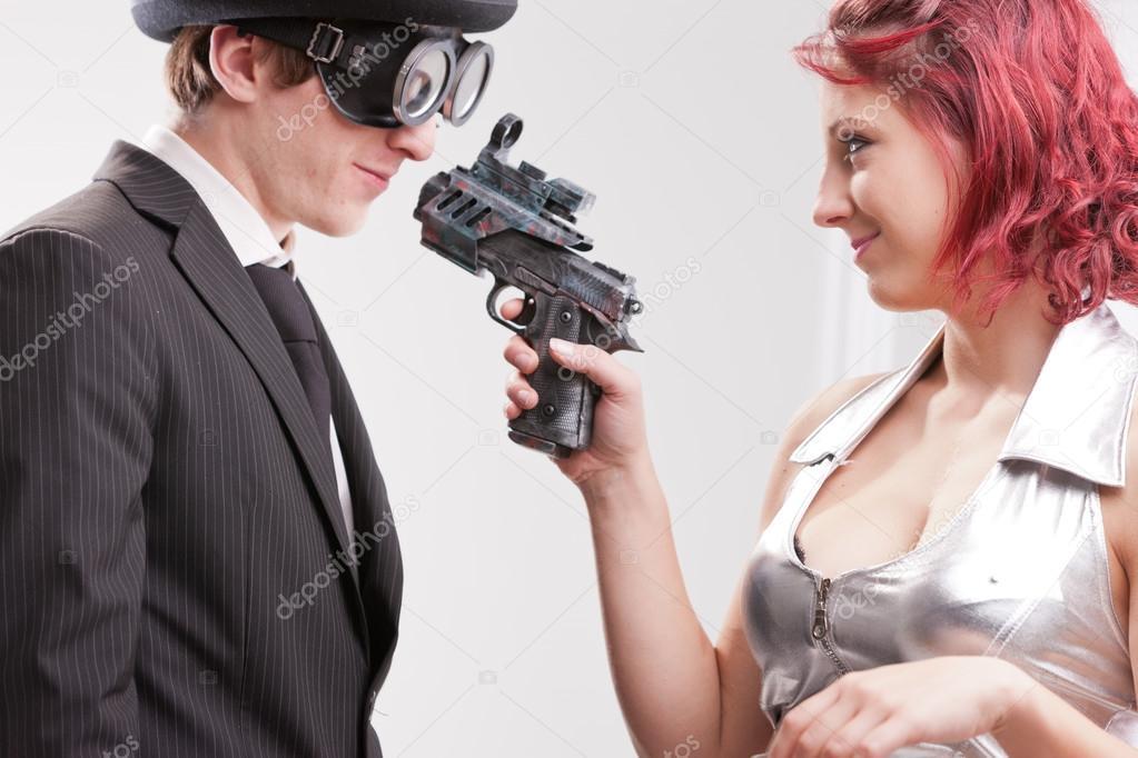 Weird Couple Stock Photos 11