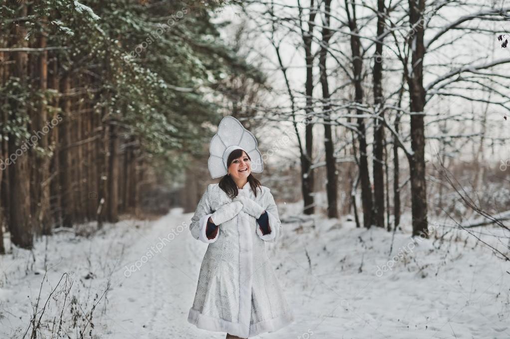 6799076d1 Sneeuw Maiden vader vorst kleindochter 1475 — Stockfoto ...