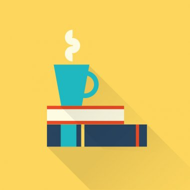books with a cup