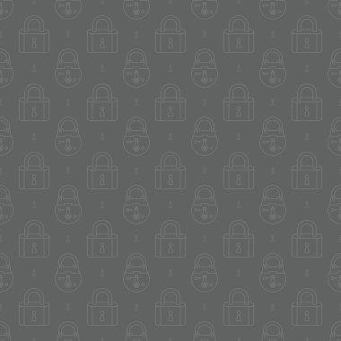padlocks pattern