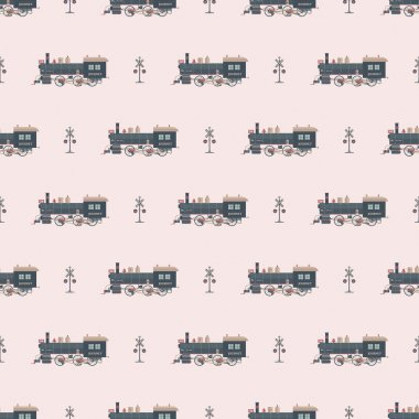 locomotive pattern