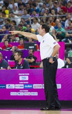 Mike Krzyzewski, coach of USA