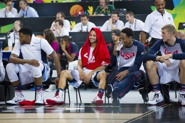 Stephen Curry of USA