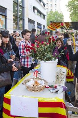 Sant Jordi Day in Barcelona