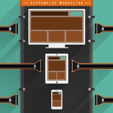 Machine of responsive webdesign