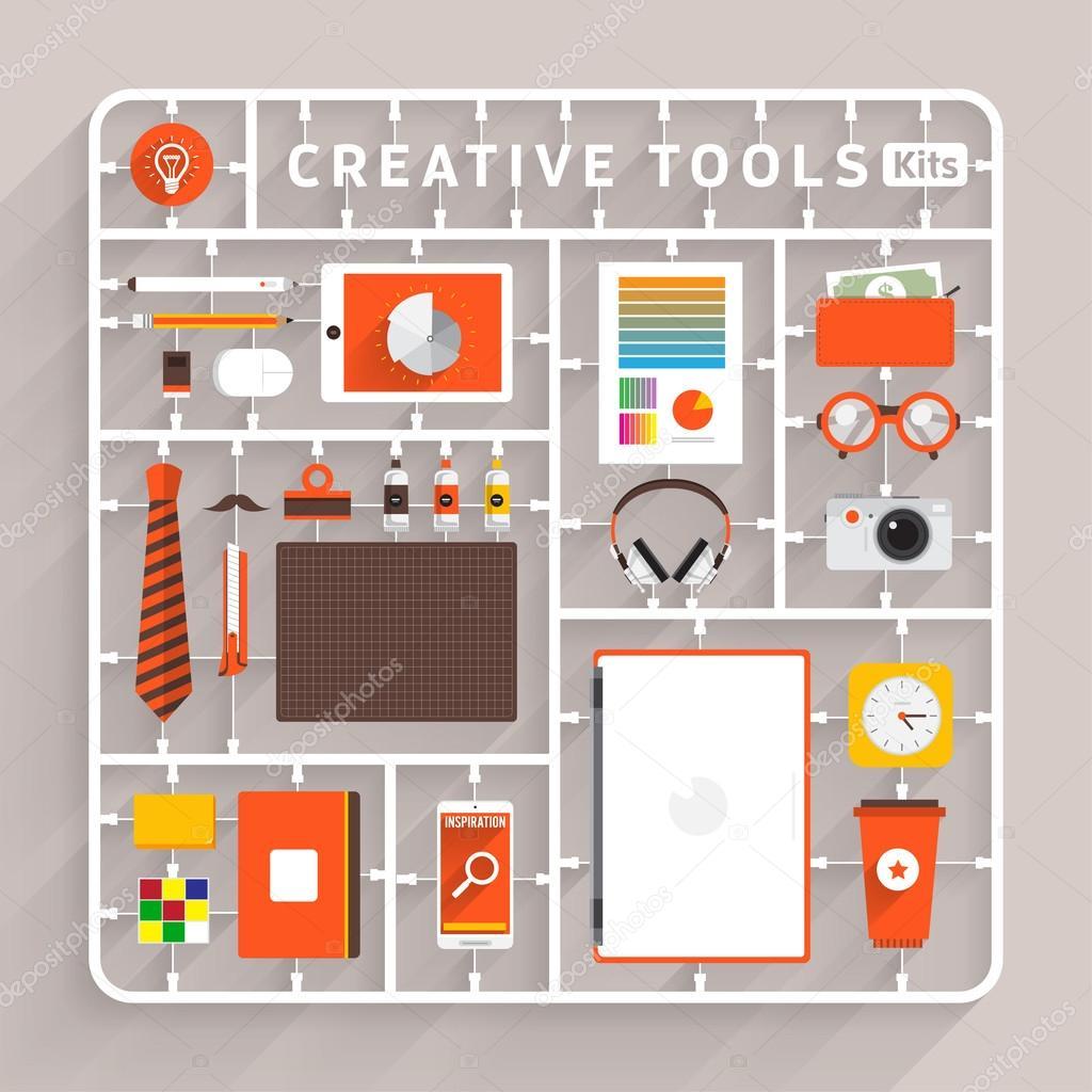 model kits for creative tools