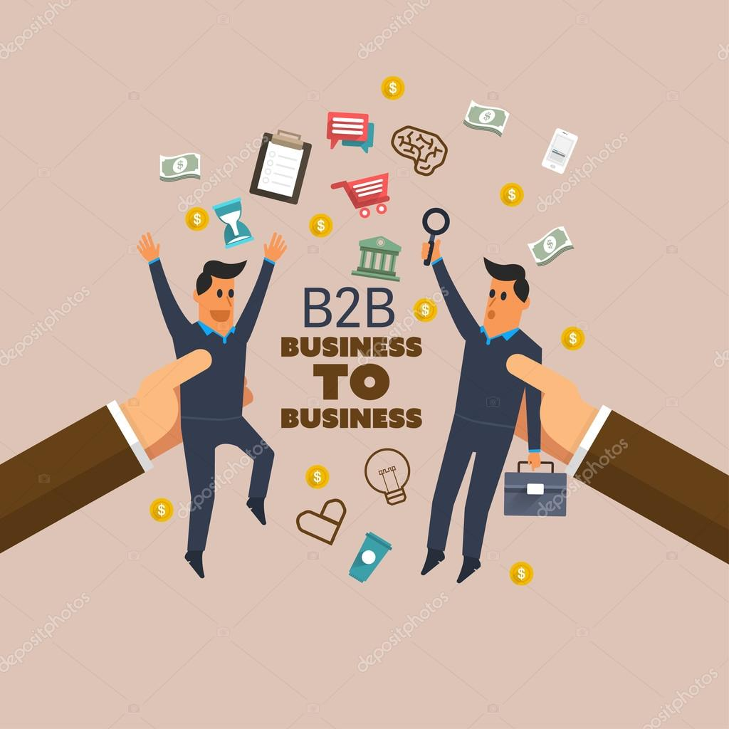 b2b concepts The benefits and basic concepts of b2b background many companies are in the position of being aware of business-to-business e-commerce, or b2b, but.