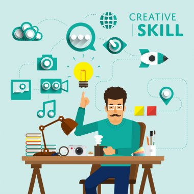 marketing show skill icon for Creative