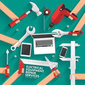 Photo electrical equipment repair services