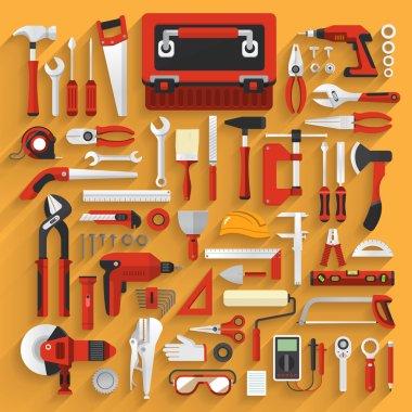 hand work tools box set