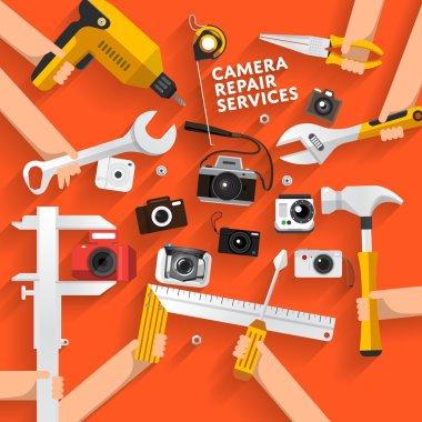repair camera services