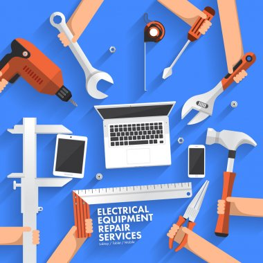 electrical equipment repair services