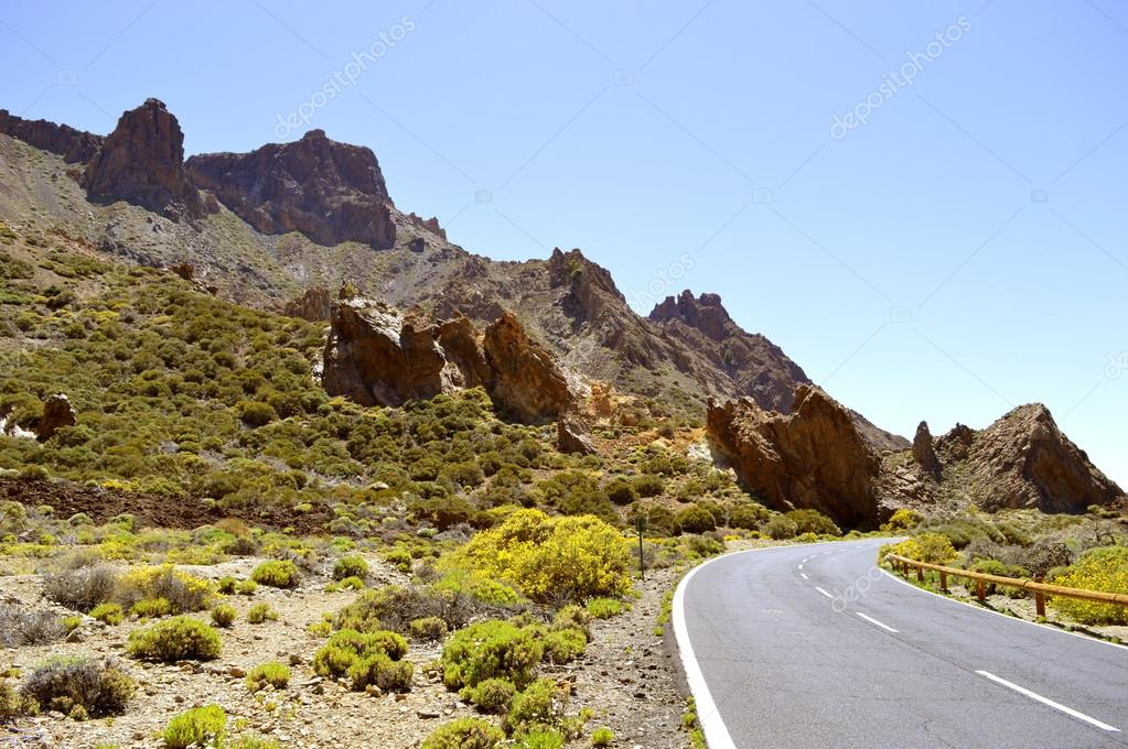 Boca Tauce in Mount Teide National Park