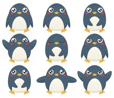 Penguin Emotion Set