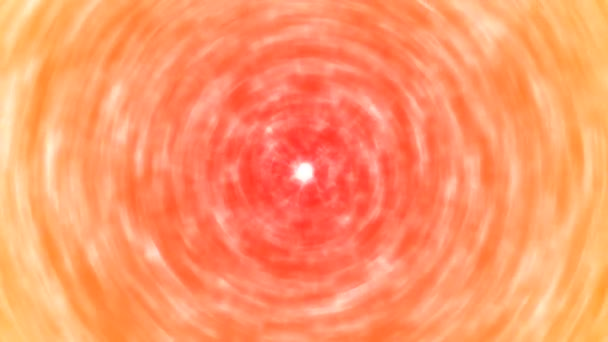 Abstract Rotating Smudged Color Animation - Loop Red