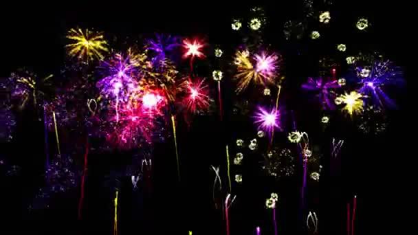Firework Show Animation - Loop