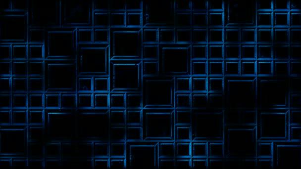 Abstraktní Kachlová pozadí a lehké animace - Loop Blue