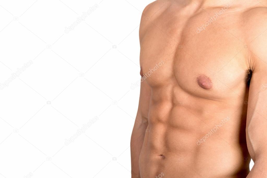 Abdominal-Muskeln von Torso Mannes — Stockfoto © luislouro #112466348