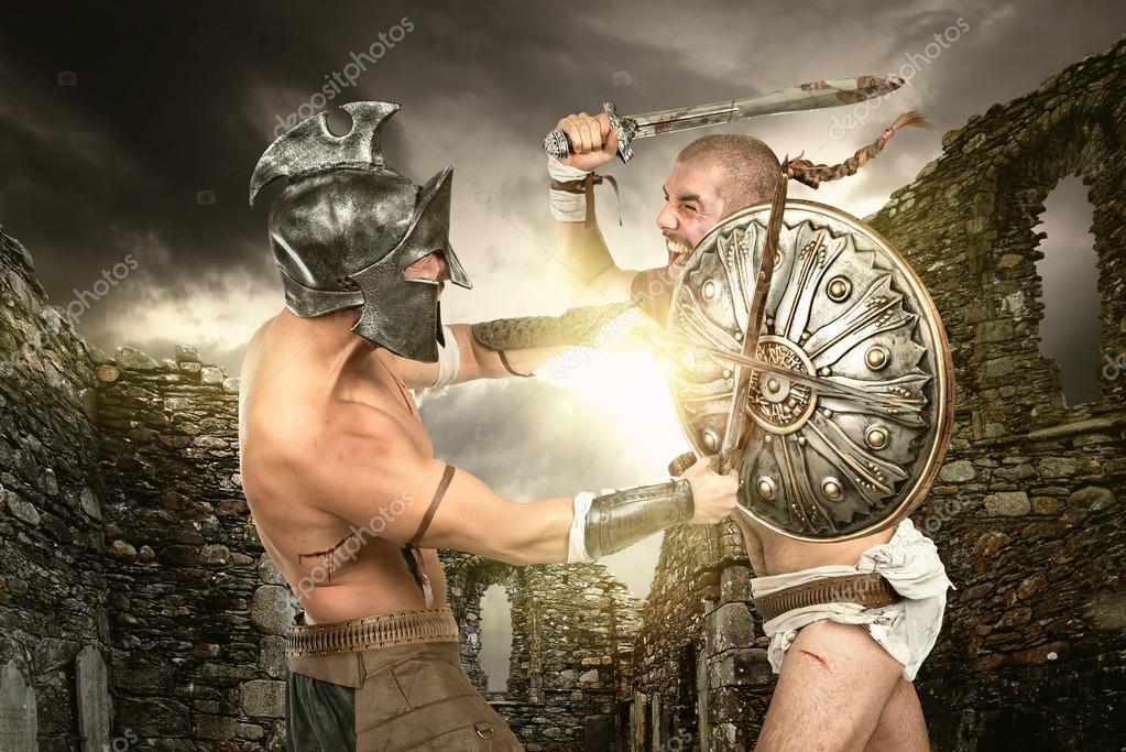 Two gladiator