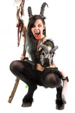 woman faun sorceress