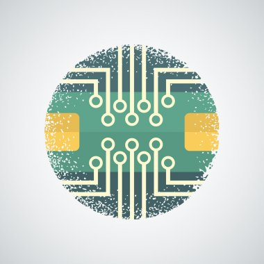 Printed Circuit Board Icon