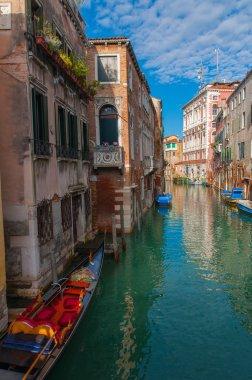 Sunny Day in Venice, Italy.